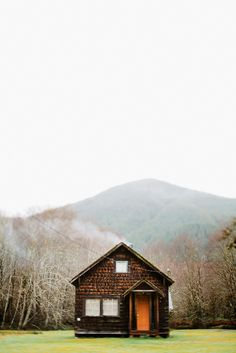 cozy cabin with amazing surroundings / photo by Taylor McCutchen