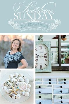 Shabbilicious Sunday with What Meegan Makes - Shabby Art Boutique