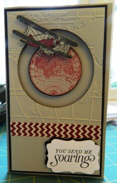 Penny Spinner Plane by by ann - Cards and Paper Crafts at Splitcoaststampers