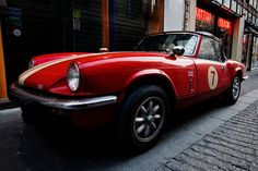 I helped a buddy and his dad restore one in high school, and that inspired my love of vintage European sports cars. Vintage Sports Cars, British Sports Cars, Classic Sports Cars, Classic Cars, Alfa Cars, Bespoke Cars, Triumph Motor, New Luxury Cars, Cafe Concept