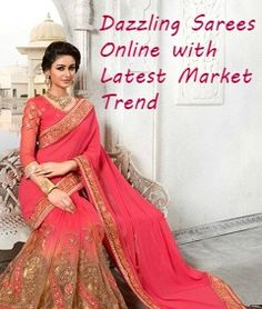 Prefer sarees online for weddings, festive occasions at cost effective rates at dessiattire. Choose latest collection of sarees, lehengas and party wear online. Other Woman, Sarees Online, Party Wear, Festive, Latest Trends, Sari, Weddings, Clothes For Women, How To Wear