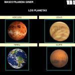 2 actividades de El Universo en libros LIM para pizarra digital Sistema Solar, Projects To Try, Digital, Multimedia, School, Chalk Board, Planets, Universe, Books