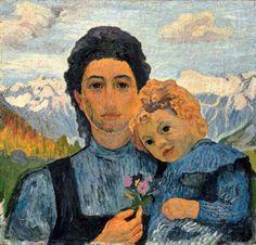 Annetta And Alberto by Giovanni Giacometti (1868 – 1933), Swiss (Iamachild)