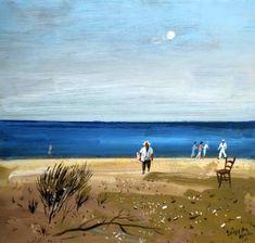 Βασιλείου Σπύρος – Spyros Vassiliou [1903-1985] part.II | paletaart3 – Χρώμα & Φώς Nerd, Clock, Beach, Water, Painting, Outdoor, Ideas, Watch, Gripe Water