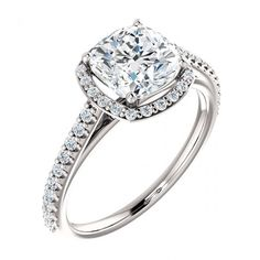 Asscher Halo Styled Engagement Ring - Bridal Rings Company - Downtown Los Angeles - Los Angeles, CA