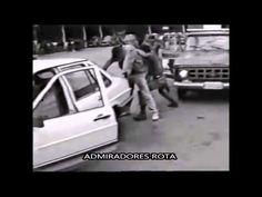Treinamento de abordagem policial de ROTA a veículo - Anos 80