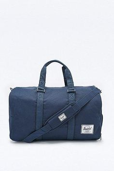 Herschel Supply co. Novel Duffle Bag in Navy #dufflebag #covetme #herschelsupplyco.