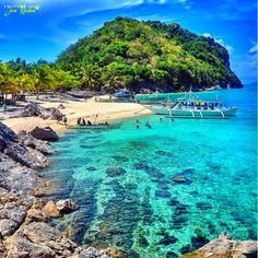 Traveling In The Philippines. The majority of people go to Southeast Asia to discover the gorgeous tropical beaches, to lie back on white sand, bathe in really clear oceans and generally enjoy the sunshine and also warm air which is characteristic of this Vacation Places, Best Vacations, Vacation Trips, Vacation Spots, Places To Travel, Places To See, Philippines Vacation, Visit Philippines, Philippines Beaches