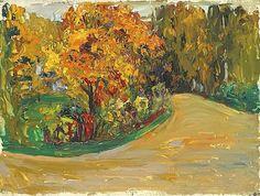 Wassily Kandinsky, The Park on ArtStack #wassily-kandinsky-vasilii-vasil-ievich-kandinskii #art