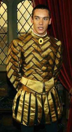 Henry VIII costume worn by Jonathan Rhys Meyers on The Tudors - Costume Desihner Joan Bergin