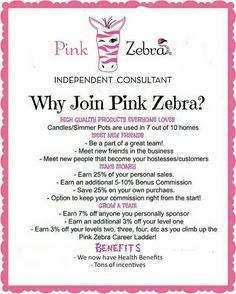 Ever thought about Joining Pink Zebra? Well now is the time..... I have earned 2 $50 coupon code for two people to use to join my team!! Please Share with anyone that would interested! ⚡️codes expires on March 10th. ⚡️. Available on either kit. Contact me!!