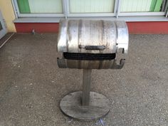 bierfass griller, grillen im selbstgebauten bierfass, beer can chicken Cooking, Outdoor Decor, Home Decor, Beer Keg, Crickets, Kitchen, Decoration Home, Room Decor, Kochen