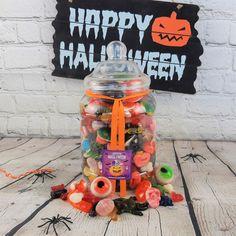 Bonbonnière remplie de bonbons Halloween - Grand modèle