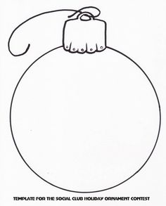 TSC Holiday Ornament Template by on DeviantArt Christmas Arts And Crafts, Preschool Christmas, Noel Christmas, Primitive Christmas, Christmas Colors, Christmas Projects, Holiday Crafts, Printable Christmas Ornaments, Christmas Templates