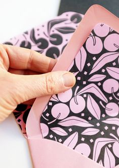 MotherS Day Card Ideas  Diy Envelope Liners Diy Envelope And