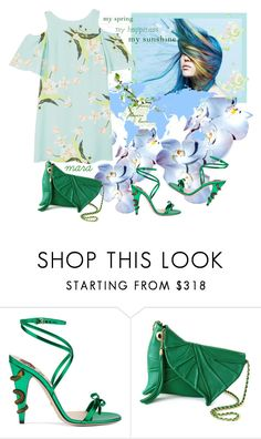 """Sunny day in Spring... :-)"" by marastyle ❤ liked on Polyvore featuring Gucci and MANGO"