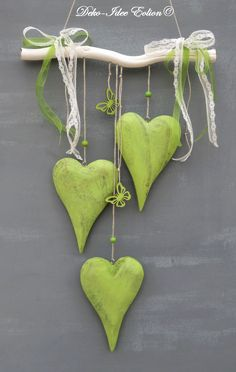 Cute hearts decoration