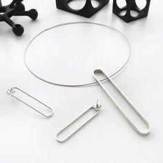 Oblong Series, Susan Snyder Jewelry, http://www.susansnyderjewelry.com modern jewelry