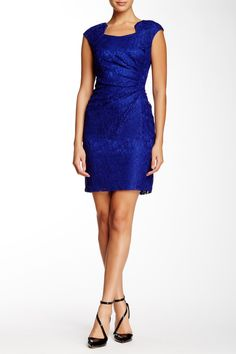 Lace Sheath Dress by Tahari on @nordstrom_rack