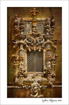 Janela do Capitulo, Convento de Cristo, Portugal by jraposo3072, via Flickr