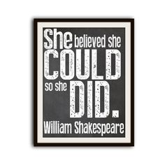 Shakespeare Inspirational Typography Word Art Quote Print - for Olivia's room Great Quotes, Me Quotes, Inspirational Quotes, Motivational Lines, Shirt Quotes, Wall Quotes, The Words, Citation Shakespeare, William Shakespeare