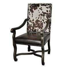 Cowhide Chair with Decorative Tacking - Your Western Decor