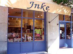 Inke Labores. Tienda de punto, tienda de patchwork y labores en Madrid. Lanas, kits, telas.