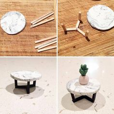 DIY Doll miniature table