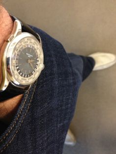 Patek Philippe - A Patek is sometimes best when dressed down...