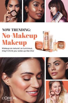 Introducing the NEW makeup collection to master the no-makeup makeup look. From base, to blush, to bronze, to highlight – we've got you covered! Makeup so natural, so luminous...they'll think you #wokeuplikethis