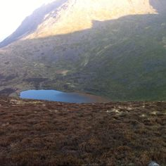 Bleaberry Tarn from the Saddle to Red Pike