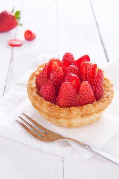 Tartelettes aux fraises {Strawberries tartlets}