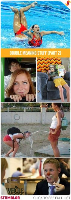 Funny Double Meaning Stuff (Part 2) #mindboggle #hilarious #fun #funny #humor #doublemeaning #crazy #people #senseofhumor #stumblor #funnypics #funnypictures #photos #