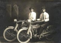 Who knew the founders of Harley-Davidson were such dapper gentlemen?!?