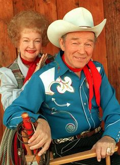 Roy Rogers and Dale Evans:  precious hearts!