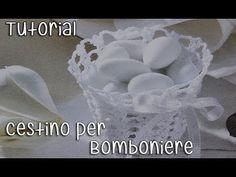 Tutorial bomboniere Cestino Uncinetto (Crochet) 1/5