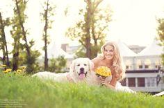 Summer hairstyle by Ilona Fryntova. Blond hair, long hair. Letní účes, blond vlasy, dlouhé vlasy.