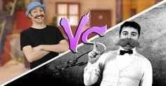 Batalha de rap - Seu Madruga Vs Nietzsche