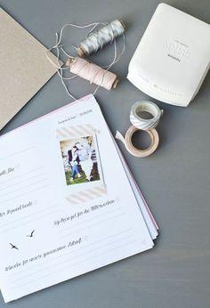 Gästebuch DIY für die Hochzeit