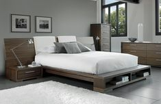 Mobican Sonoma Bedroom | Ambiente Modern Furniture