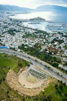 Aerial wiev of  Bodrum~TURKIYE