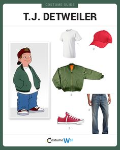 Dress Like T.J. Detweiler from Recess. See additional costumes and cosplays of T.J. and the rest of the gang.