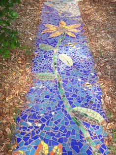 Mosaic walkway by Everglades Earth First!, via Flickr
