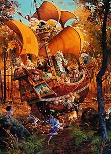 James Christensen fairy art - Tales Beyond Timp