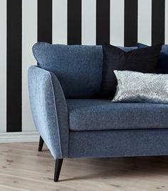 Hampton 3 sits soffa från MIO möbler. Borås Mark