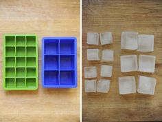 Ice – While it might seem like all ice is the same, using larger cubes allows cocktails to cool quickly without diluting the alcohol (plus they look cute).