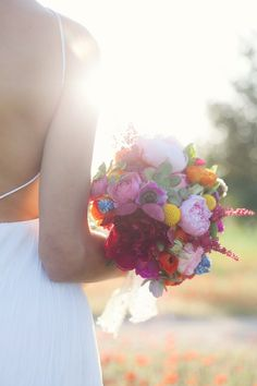 Colorful Ibiza Wedding Inspiration