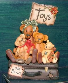 Old Bears by Manda Theart