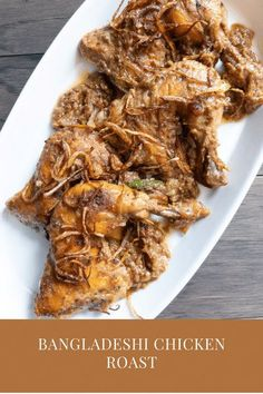 A Bangladeshi Classic, roast recipe. That Biye barir roast, here is the perfect recipe for that perfect roast we all crave for. Delicious chicken roast for your special occasion lunch and dinners! Authentic chicken roast recipe. #BangladeshiChickenRoast #BiyeBarirRoast #BengaliFood #RamadanRecipes #EidRecipes Easy Delicious Recipes, Easy Chicken Recipes, Delicious Food, Tasty, Lunch Recipes, Easy Dinner Recipes, Easy Meals, Cooking Recipes, Roast Recipes