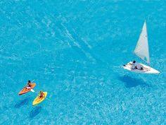 The world's biggest pool at 3,324 feet long! San Alfonso del Mar resort in Algarrobo - Chile.